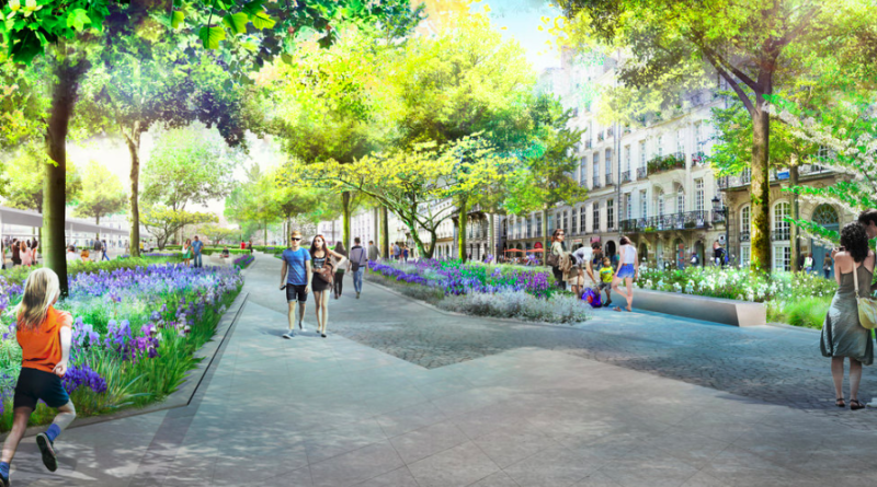 Grande métamorphose pour Feydeau- Commerce d'ici 2021