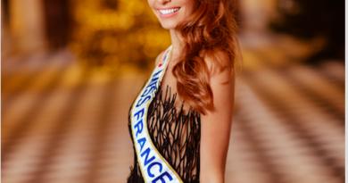 Maëva Coucke, Miss France 2018 à Basse-Goulaine le 6 avril.