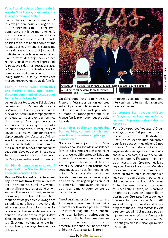 Sylvie Tellier interview Hello Nantes partie 2