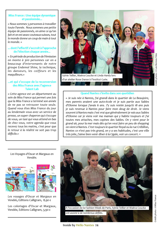 Sylvie Tellier interview Hello Nantes partie 3